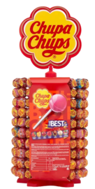 The Best of Chupa Chups Lolly Tower 200pk image