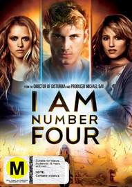 I Am Number Four on DVD