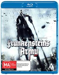 Frankenstein's Army on Blu-ray