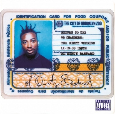 Return To The 36 Chambers (Dirty Version) (2LP) by Ol' Dirty Bastard