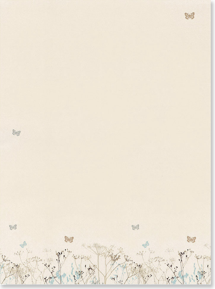 Butterflies Stationery Set (Boxed Stationery) image