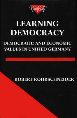 Learning Democracy by Robert Rohrschneider image
