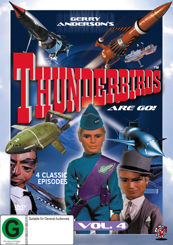 Thunderbirds Vol 4 on DVD