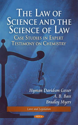 Law of Science & the Science of Law by Hyman Davidson Gesser image