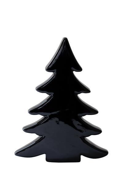 Large Scandic Ceramic Christmas Tree Black At Mighty Ape Nz