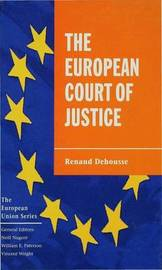The European Court of Justice by Renaud Dehousse image