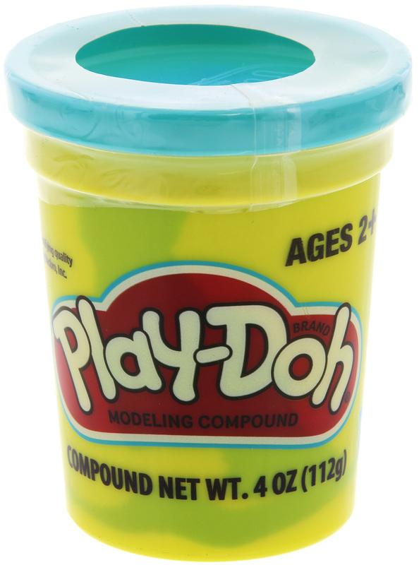 Play Doh Single Tub - Bright Blue