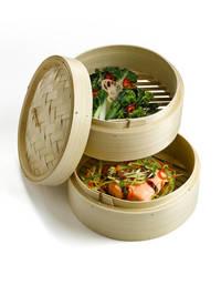 Ken Hom: Bamboo Steamer 2 Tier (20cm)