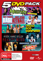 5 DVD Pack (Mallrats / BASEketball / Dazed And Confused / Reality Bites / Bill And Ted's Excellent Adventure) (5 Disc Set) on DVD