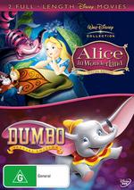 Alice In Wonderland (1951) / Dumbo (2 Disc Set) on DVD