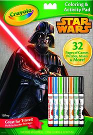 Crayola Star Wars Coloring & Activity Pad by Crayola