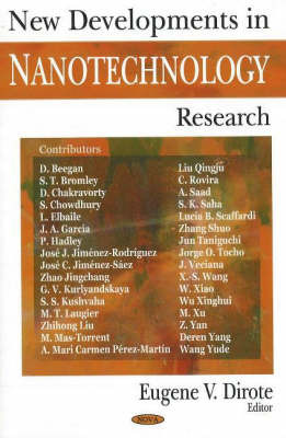 New Developments in Nanotechnology Research image