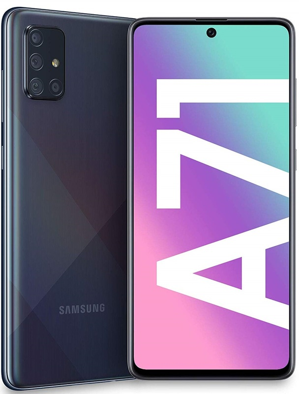 Samsung Galaxy A71 128GB(8GB RAM) - Prism Crush Black (Original Sim free)