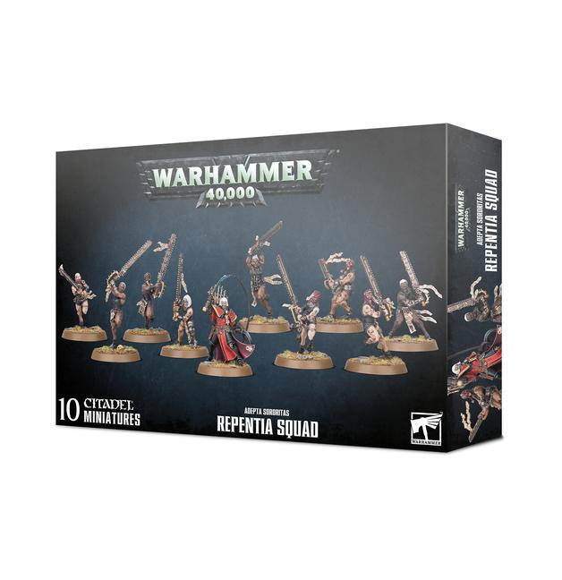Warhammer 40,000: Adepta Sororitas Repentia Squad