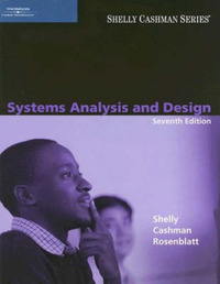 Systems Analysis and Design by Gary B Shelly image