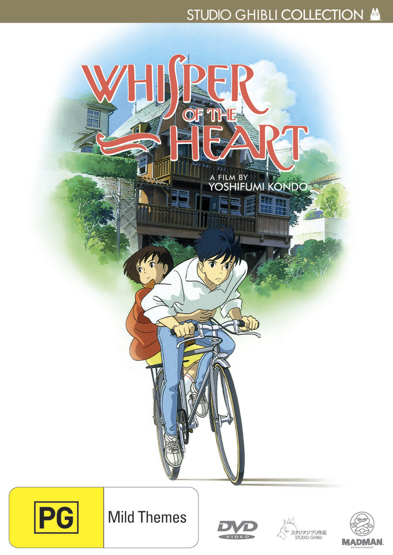 Whisper of the Heart on DVD image