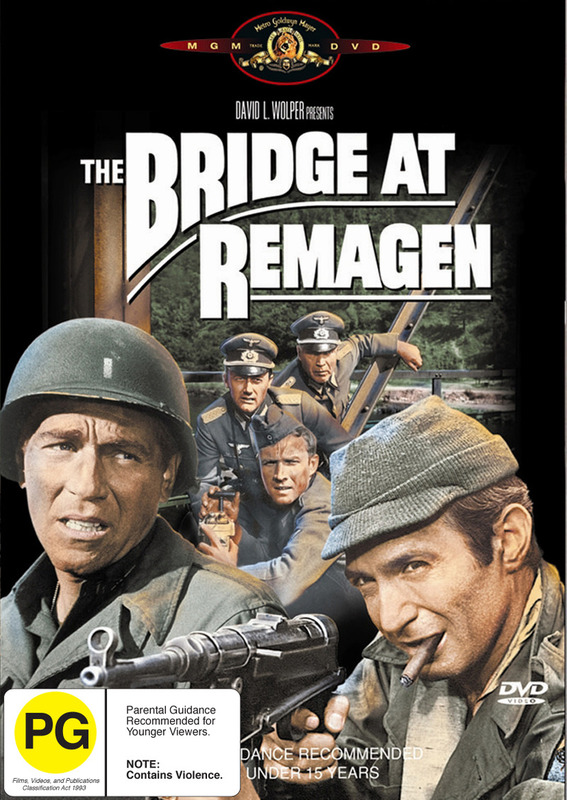 The Bridge At Remagen on DVD