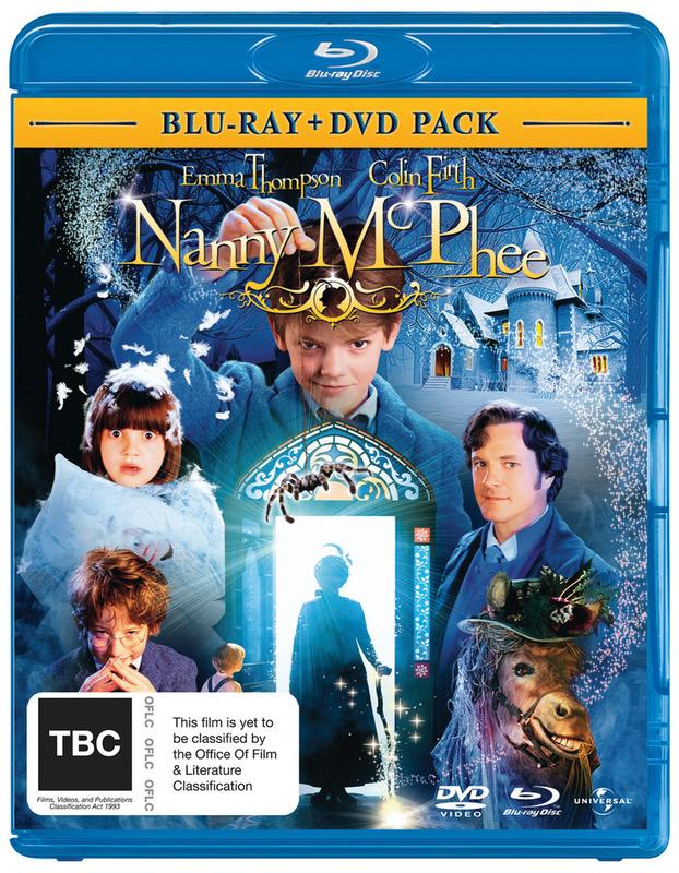 Nanny McPhee (Blu-ray + DVD Pack) on DVD, Blu-ray