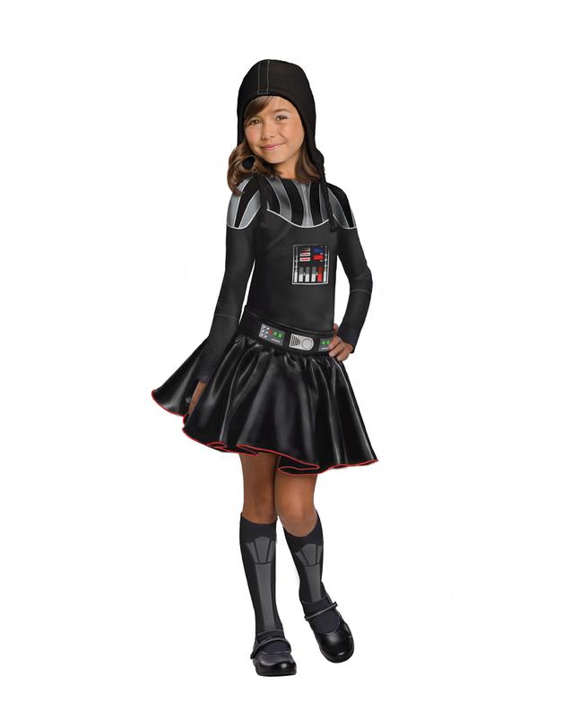 Star Wars Darth Vader Girl Costume (Medium)