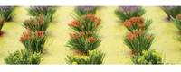 Detachable Flower Bushes (HO Scale) 30 pack