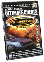 Ultimate Cheats V8 Supercars for PlayStation 2