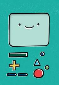 Adventure Time Notepad: Bmo by Cartoon Network