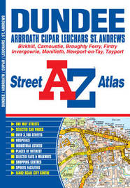 Dundee Street Atlas by Geographers A-Z Map Company