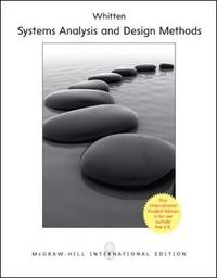 Systems Analysis and Design for the System Enterprise by Jeffrey L. Whitten image