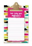 Lady Jane: Small Clipboard With Notepad - Make Today