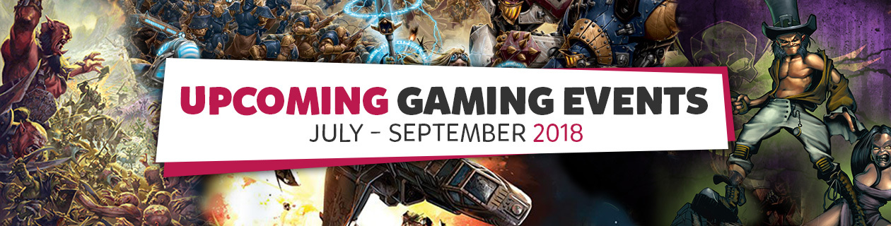 Upcoming Gaming Events