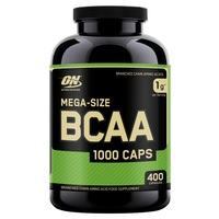 Optimum Nutrition BCAA 1000 (400 Capsules)