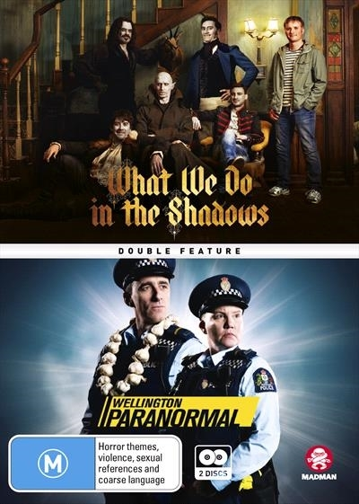 What We Do In The Shadows/Wellington Paranormal Double Pack on DVD