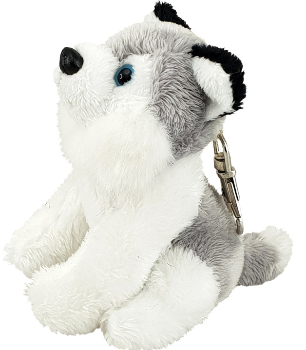 Antics: Husky Puppy - Plush Keyclip