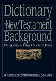 Dictionary of New Testament Background image