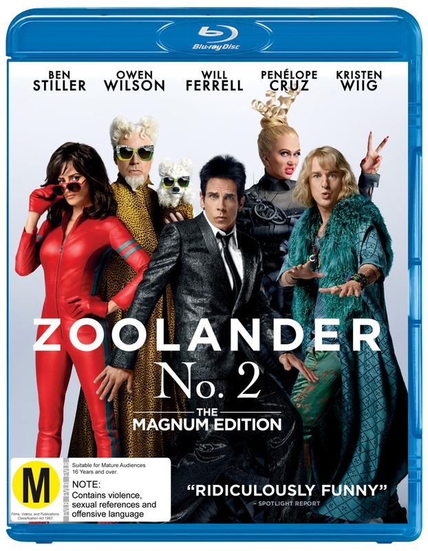 Zoolander 2 - Magnum Edition on Blu-ray
