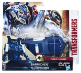 Transformers: The Last Knight: 1-Step Turbo Changer (Barricade)