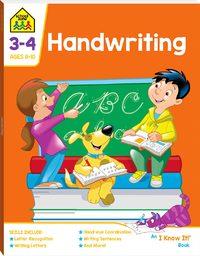 School Zone: I Know It! - Handwriting