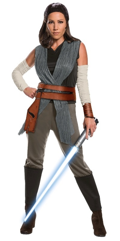 Star Wars: Rey (Last Jedi) - Deluxe Costume (Large)
