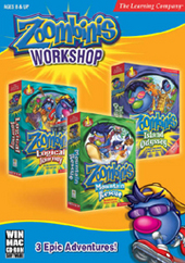 Zoombinis Workshop (3 Pack) for PC Games