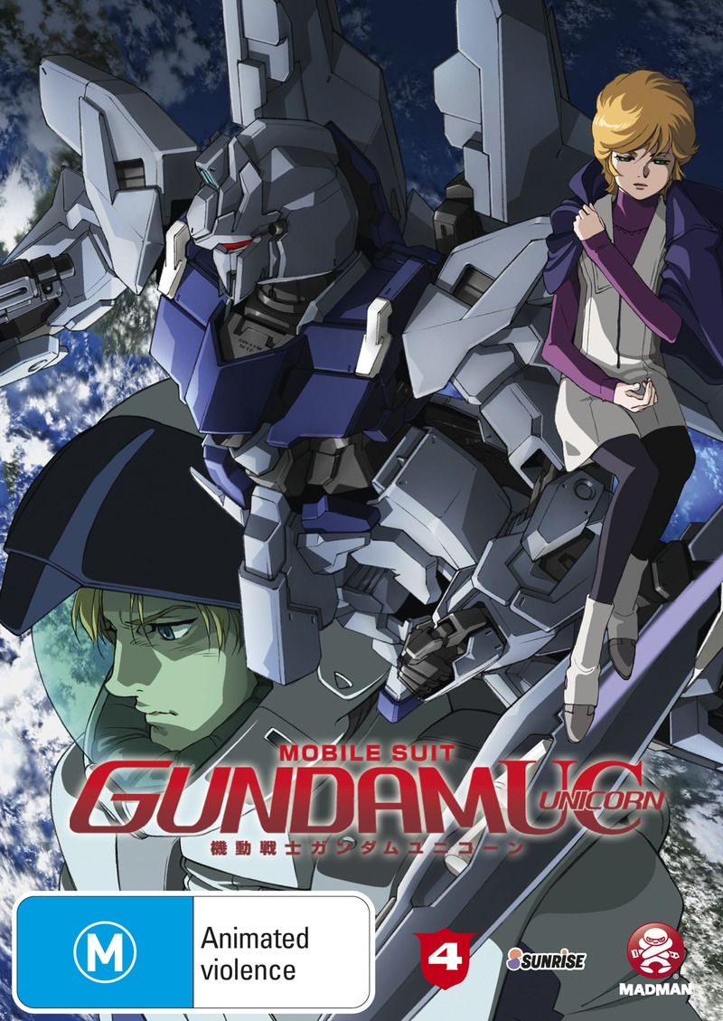 Mobile Suit Gundam Unicorn - Volume 4 on DVD image