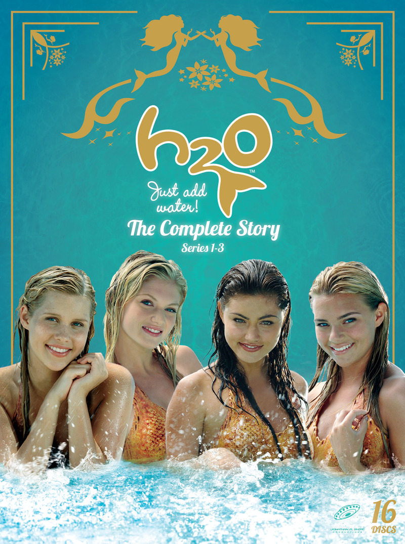 H2o just add water the complete story dvd buy now for Just add water series