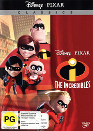 The Incredibles (New Packaging) on DVD image