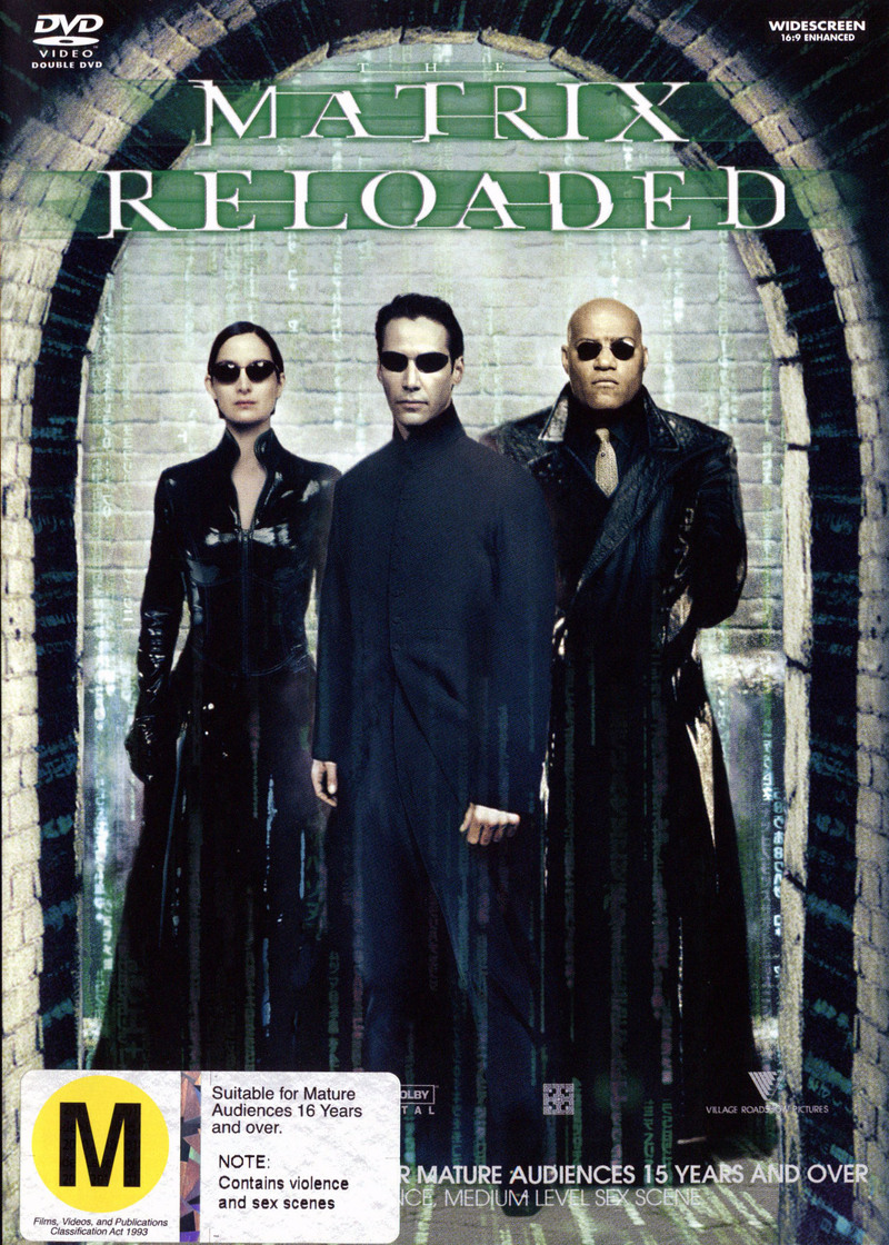 The Matrix - Reloaded on DVD image