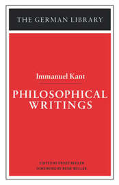 Philosophical Writings by Immanuel Kant