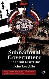 Subnational Government by John Loughlin image