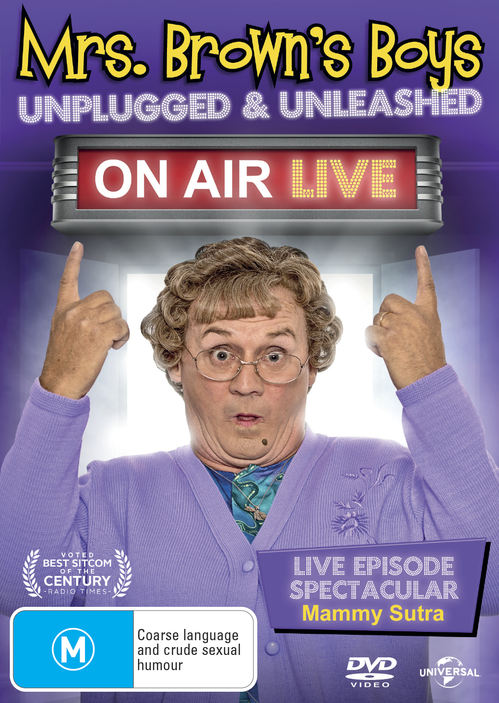 Mrs Browns Boys On Air Live on DVD image