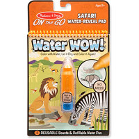 Melissa & Doug: Water Wow - Safari Water Reveal