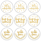 Kaisercraft Lucky Dip Foil Stickers - Let's Celebrate