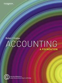 Accounting by Robert Hodge image