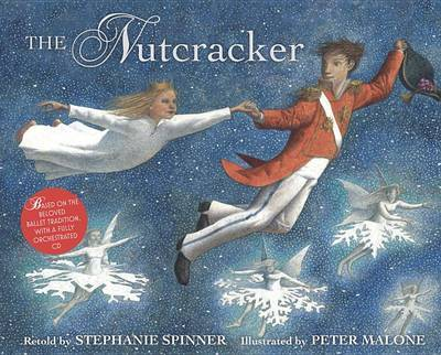 Book and Cd: The Nutcracker by Stephanie Spinner image